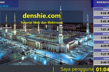 Paparan digital masjid